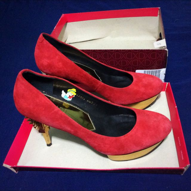 Staccato Red Heels