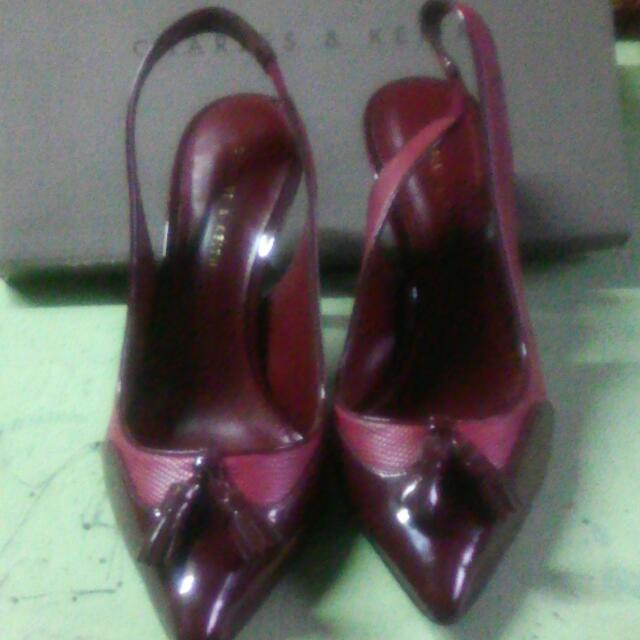 Red Shoes , Size 8, High Heels