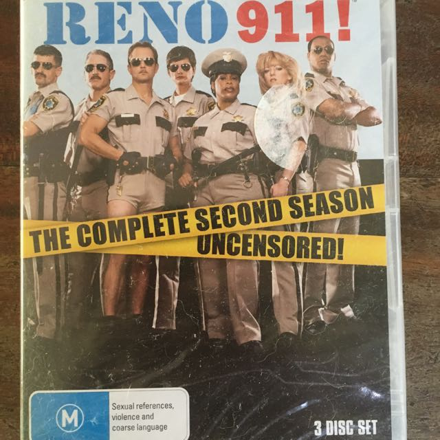 Reno 911 Season 2 DVD