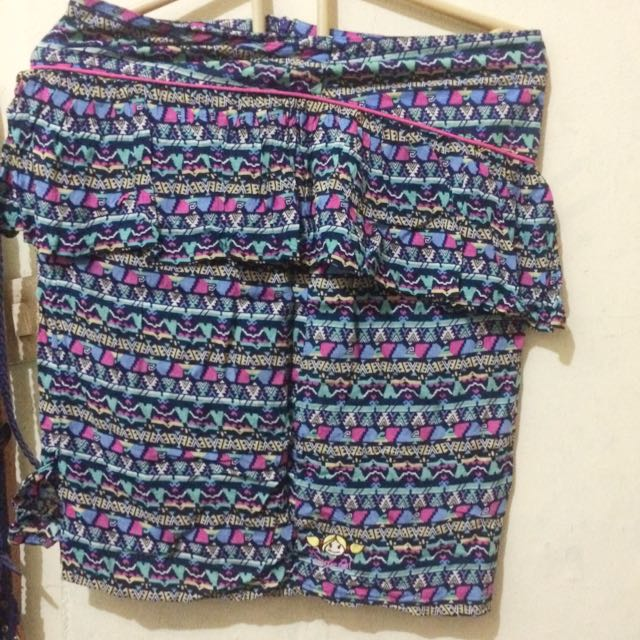 Rok Peplum Tribal