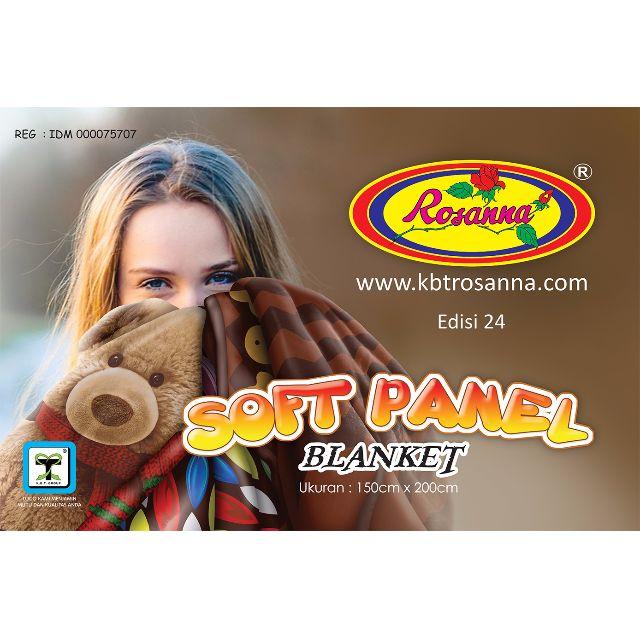 Handuk Rosanna Printing 72x145 Minnie Party. Source · Selimut Rosanna Soft Panel