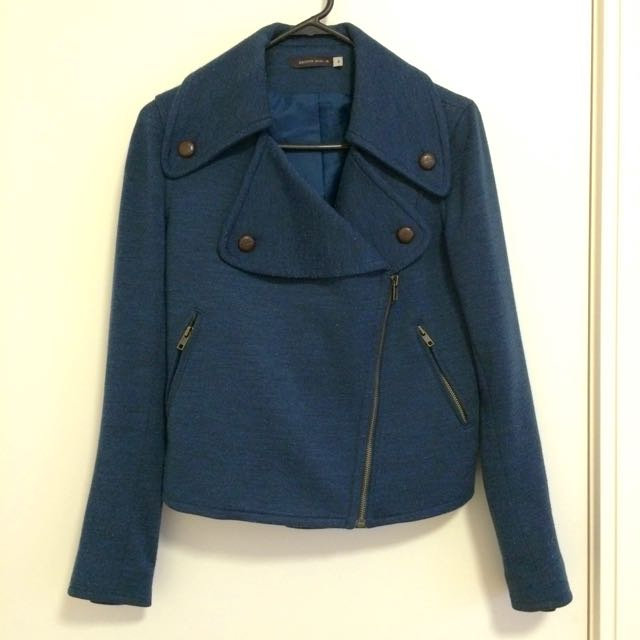Size 8 Jacket In Teal