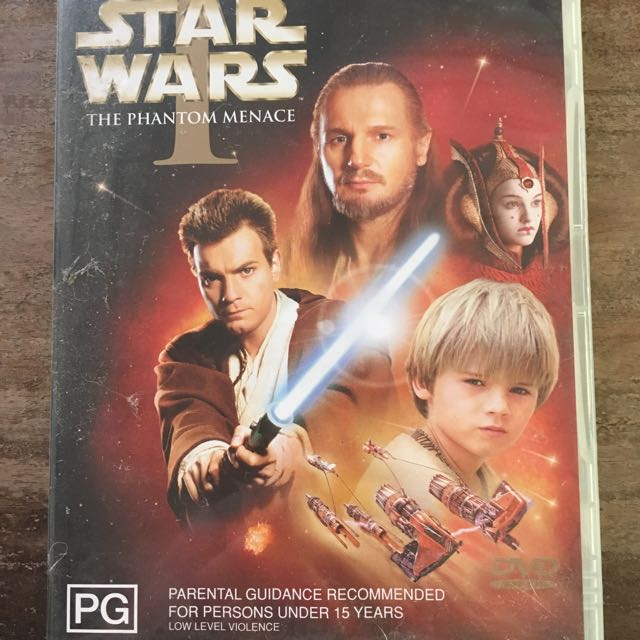 Star Wars Episode I DVD