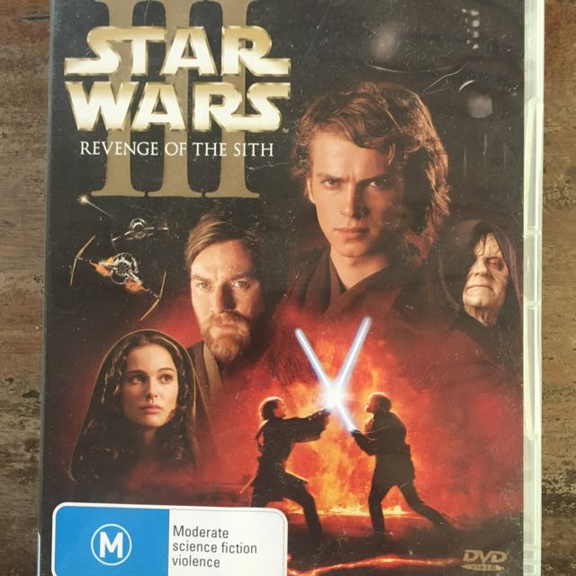 Star Wars Episode III DVD
