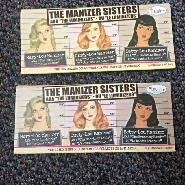 The Balm, Manizer Sisters Highlight Palette