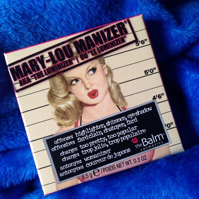 THE BALM Mary Lou Manizer