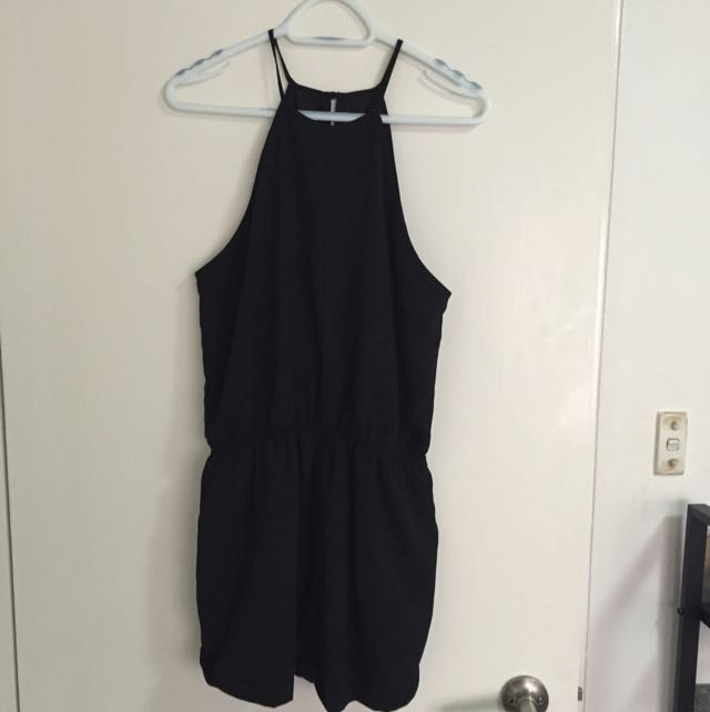 The Fifth Black Playsuit