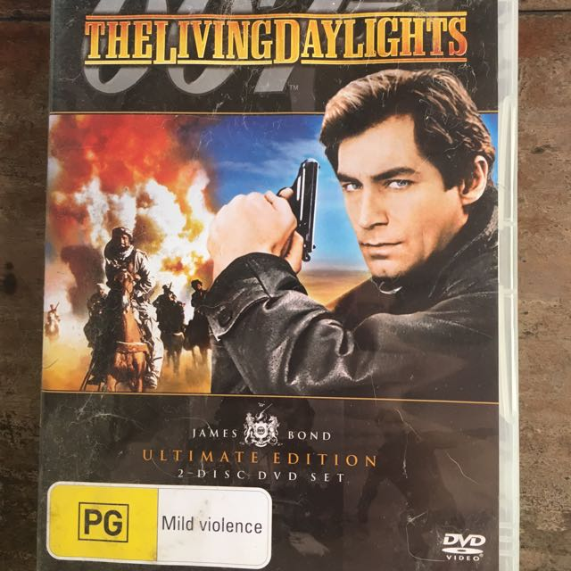 The Living Daylights: 007 DVD