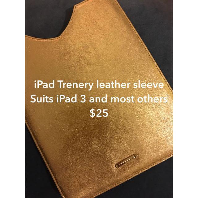 Trenery iPad Sleeve