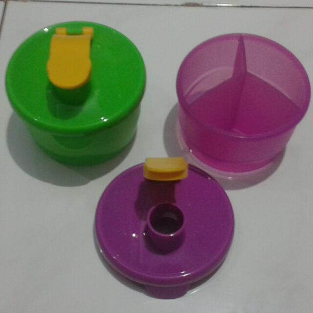 Tupperware Formula Dispenser, Babies & Kids, Nursing & Feeding on Carousell