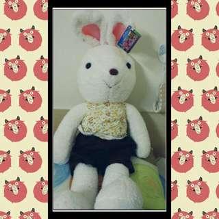 大兔子床邊玩偶