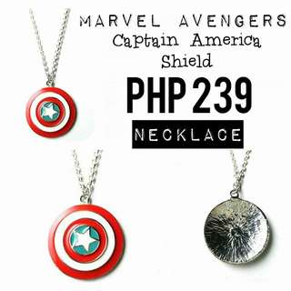 Necklace   Marvel Avengers: Captain America Shield