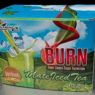 Burn Mate Iced Tea