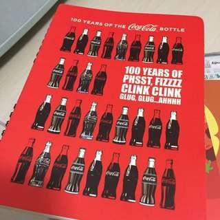 可口可樂筆記本