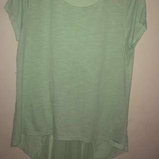 Xl Pale Green Top
