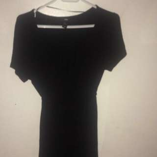 Xl Black Dress Hnm