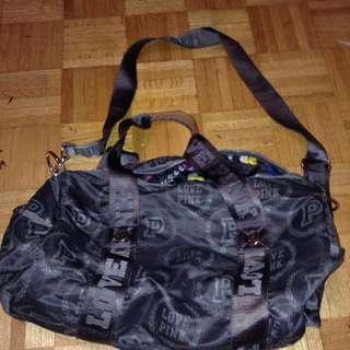 Small VS Pink Duffle Bag