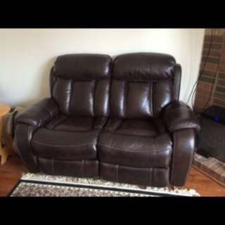 Recliner Chair And Love Seat Sofa