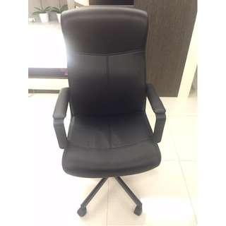 IKEA MALKOM 旋轉椅/黑色/8.5成新