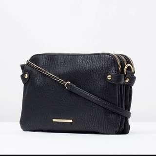 Tony Bianco Black Soho Bag