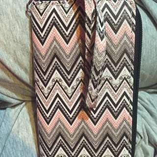 Pink/Black/Grey Wallet