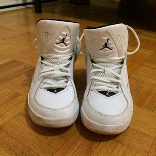 Price Reduced Black And White Pair Of Jordan's