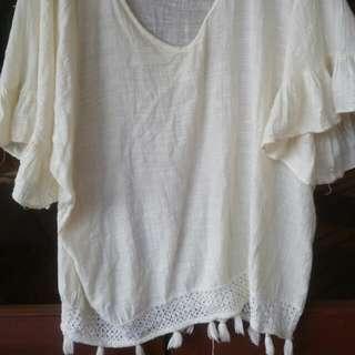 Tree Of Life Off The Shoulder Shirt/ Dress