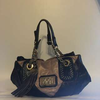 Guess Handbag With Side Tassel