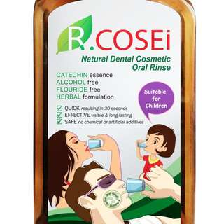 R'COSEi All Natural Herbal Oral Rinse (500ml)