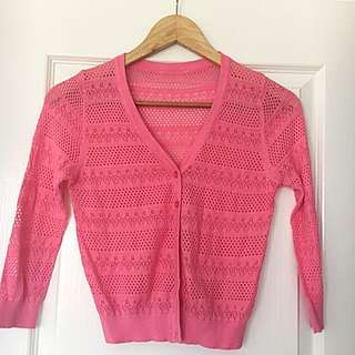 Pink Cardigan Size S