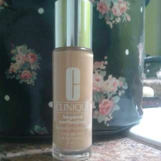 Clinique Beyond Perfecting Foundation Shade Buttermilk (6.5)