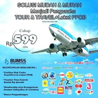 usaha TOUR&TRAVEL BUMSS