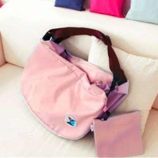韓版休閒感街頭注目包    兼具單肩包、挎包、背包三種方式