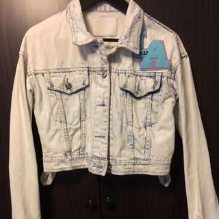 Editors Market Crop Denim Jacket