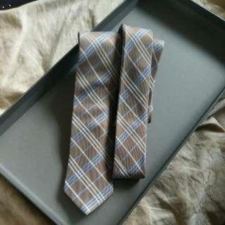 Gold Striped Tie