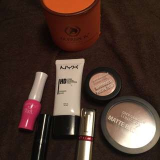 Make Ups, Guerisson Cream,bronzer, Highlighter,primer Nyx