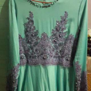Prelove 1 Time Used..long Dress M