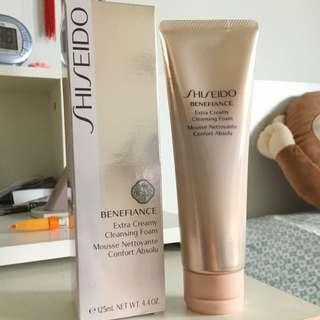 125mL Shiseido Benefiance Extra Creamy Cleansing Foam
