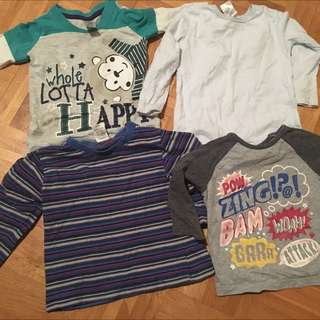Toddlers Shirt Bulk Lot 14pcs