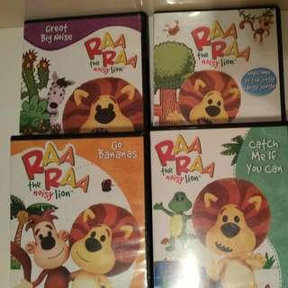 Raa Raa Noisy Lion Dvds