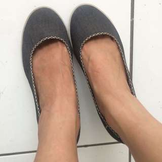 Wedges denim Shoe