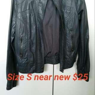 Leather Type Jacket