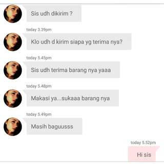 Another TESTI... Thanks For Shopping 😍😍