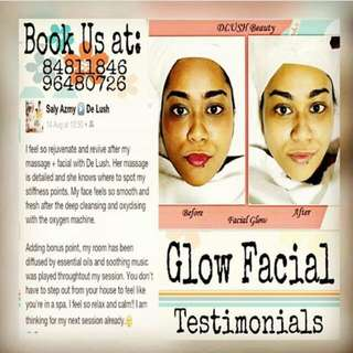 Facial Session (HOME Mobile)