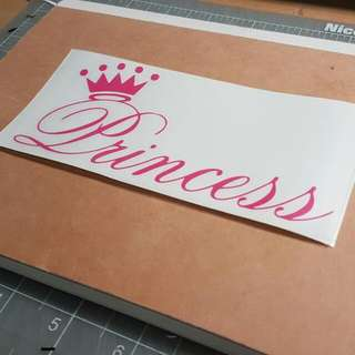 Customised Decal/ Sticker/ Names/ Quotes/ Laptop