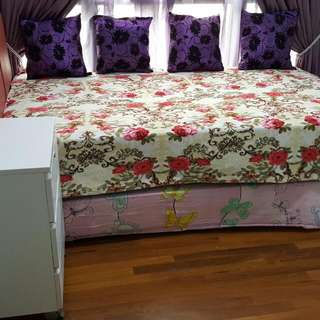 Fully Furnished Common Room For Rent For Single