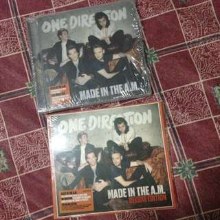 Made In The AM & Deluxe Edition One Direction