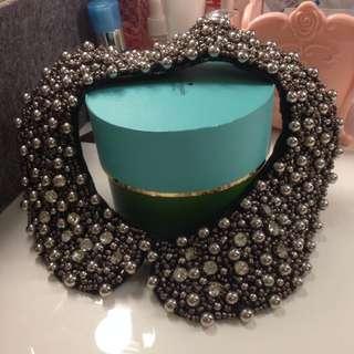 Fashion Detachable Beaded Collar