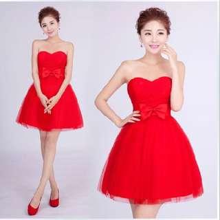 Red Gown (gaun Pesta)