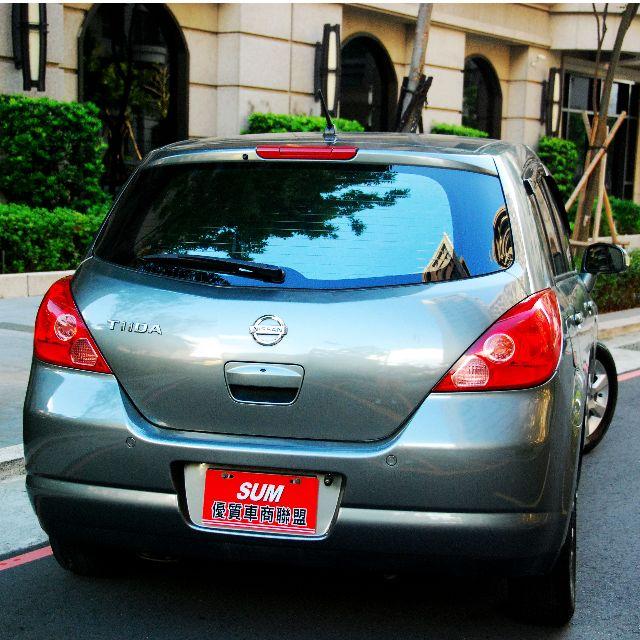 2007年NISSAN TIIDA 5門IKEY天窗款 原版件 資料齊全 里程保證 小車大空間!
